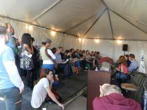 There and Back Again, or the Baltimore Book Festival