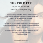 Happy New Book Day to THE COLD EYE!