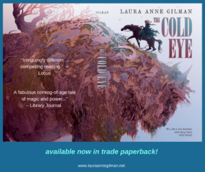 THE COLD EYE is upon you  (in paperback!)