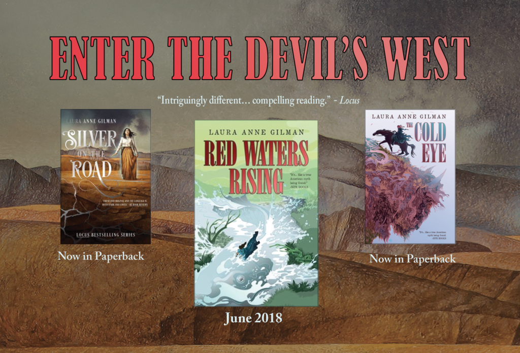 4-color ad for the devil's west trilogy
